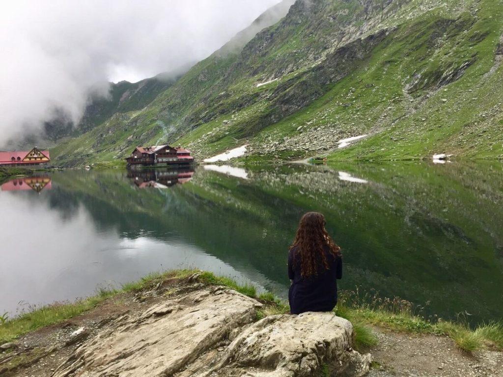 אגם בלאה רומניה כביש הטרנספגרשן