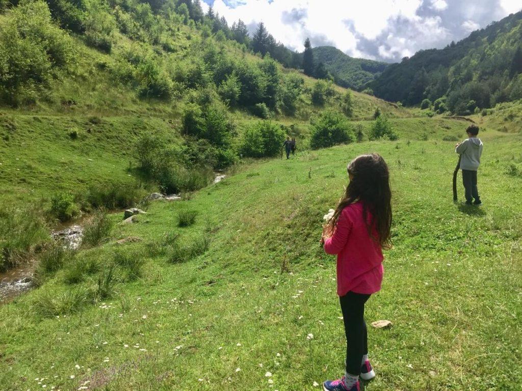 רומניה עם ילדים