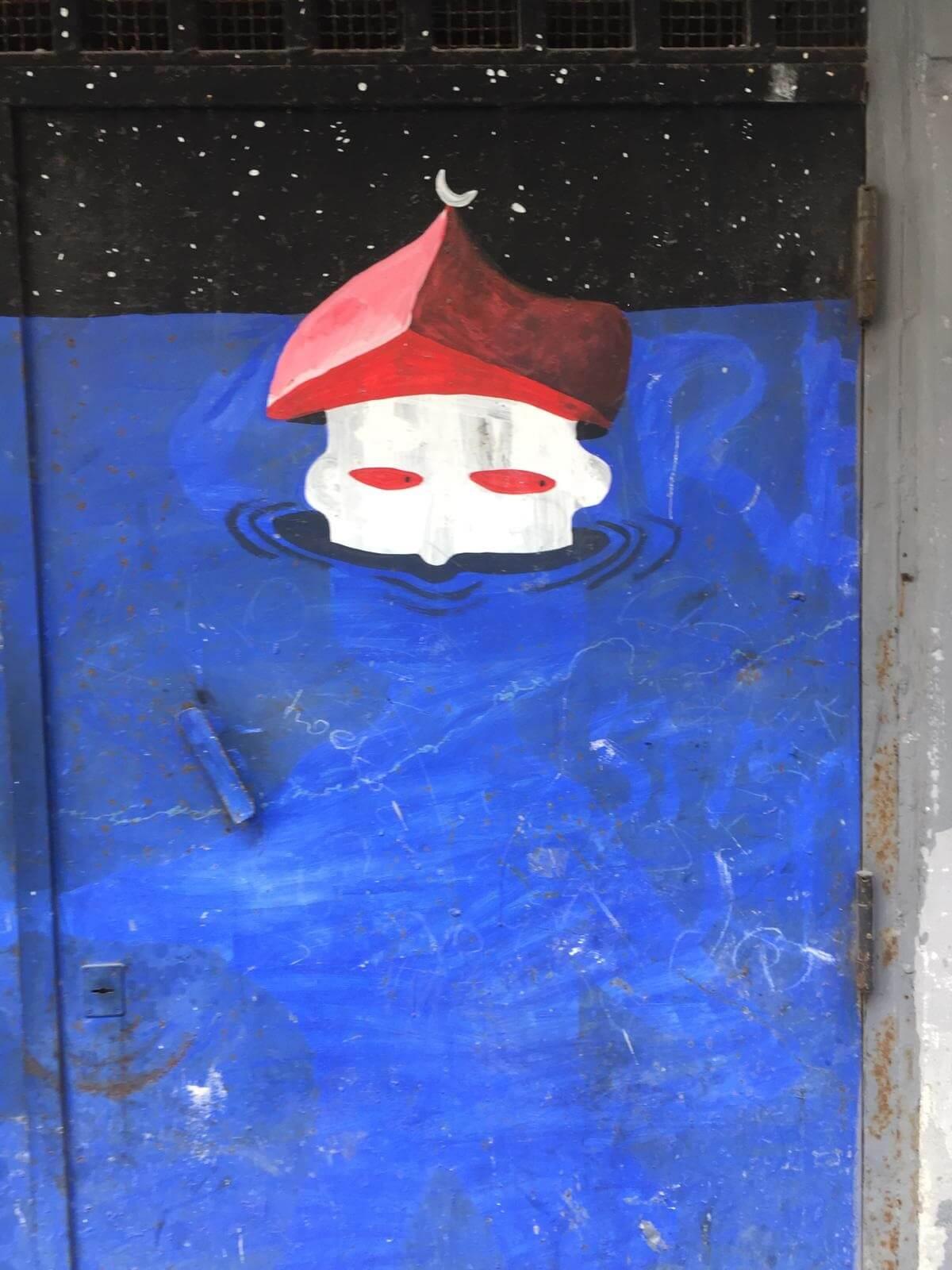 אמנות רחוב ברובע הספרדי בנאפולי