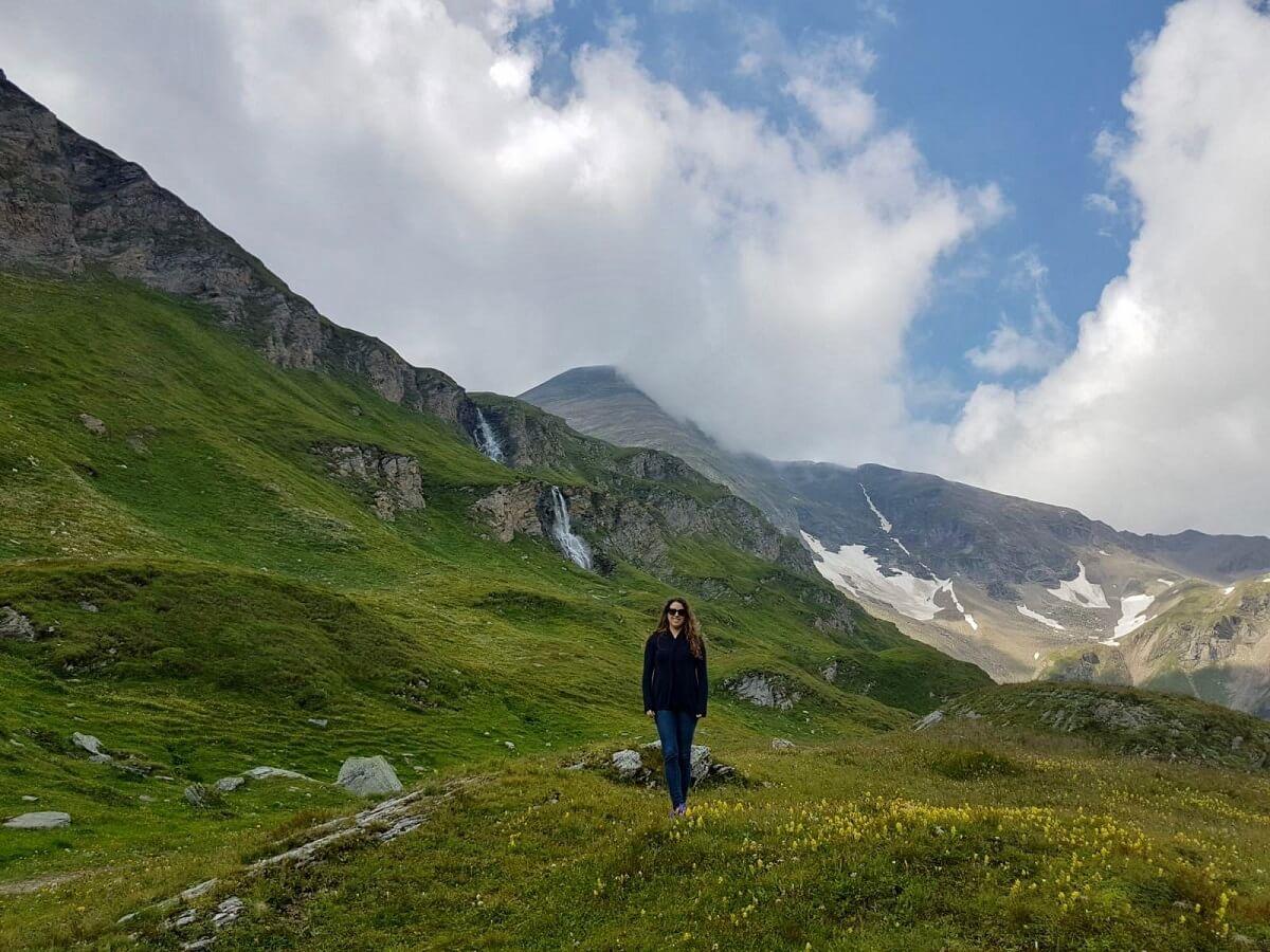 נופים יפים בחבל זלצבורג אוסטריה