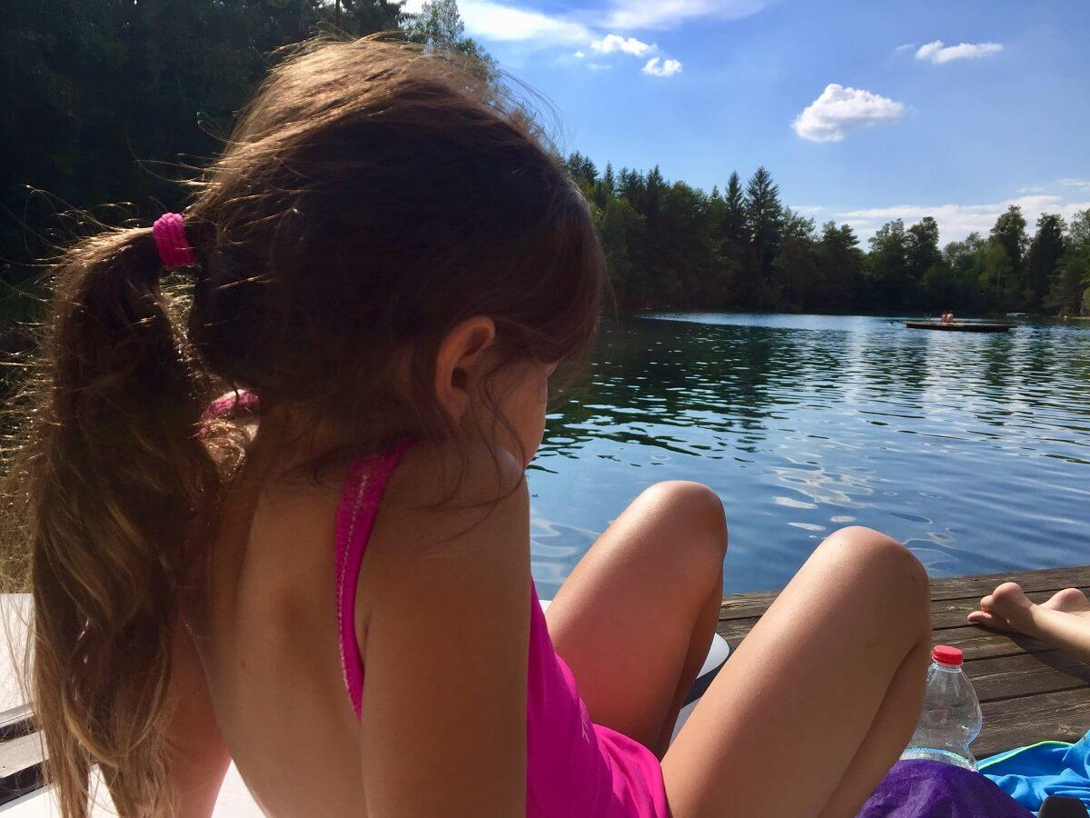 אגם ליד פארק החבלים אניף