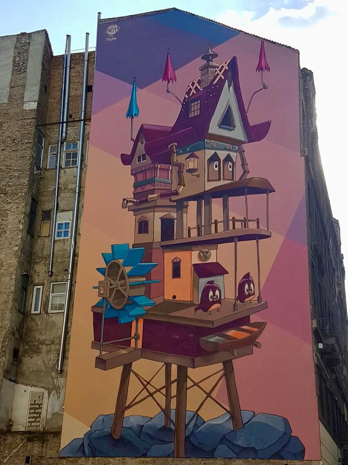 אמנות רחוב בבודפשט