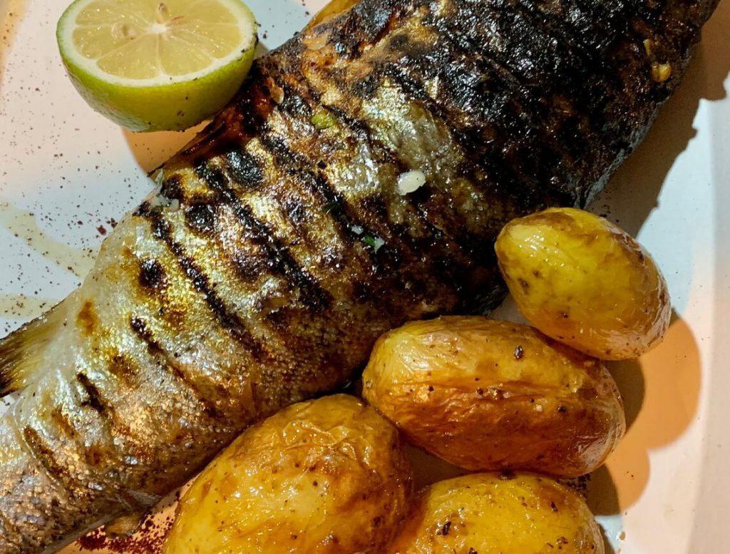 פרל על גחלים מסעדת דג על הדן
