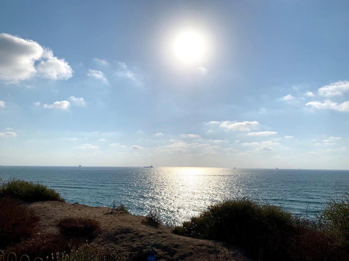 חוף הגן הלאומי אשקלון