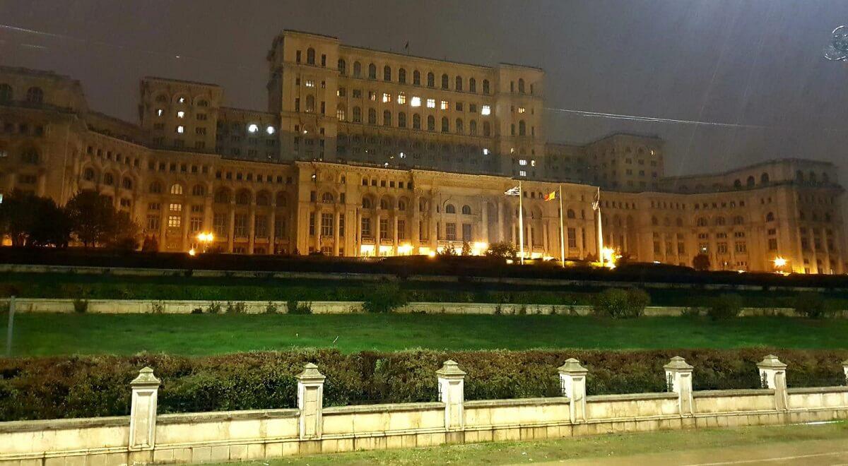 בית הפרלמנט בבוקרשט