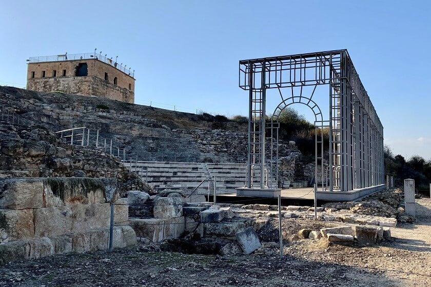 התיאטרון בגן הלאומי ציפורי